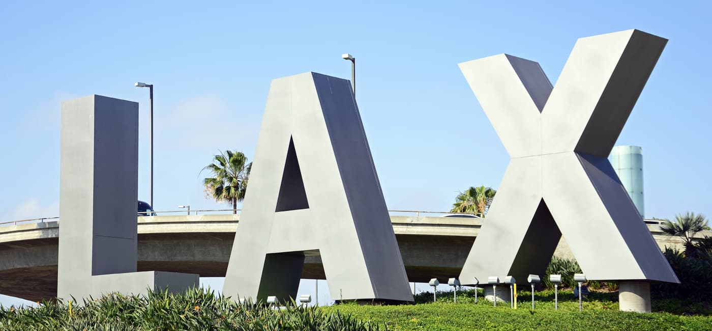 Los Angeles LAX Airport Area